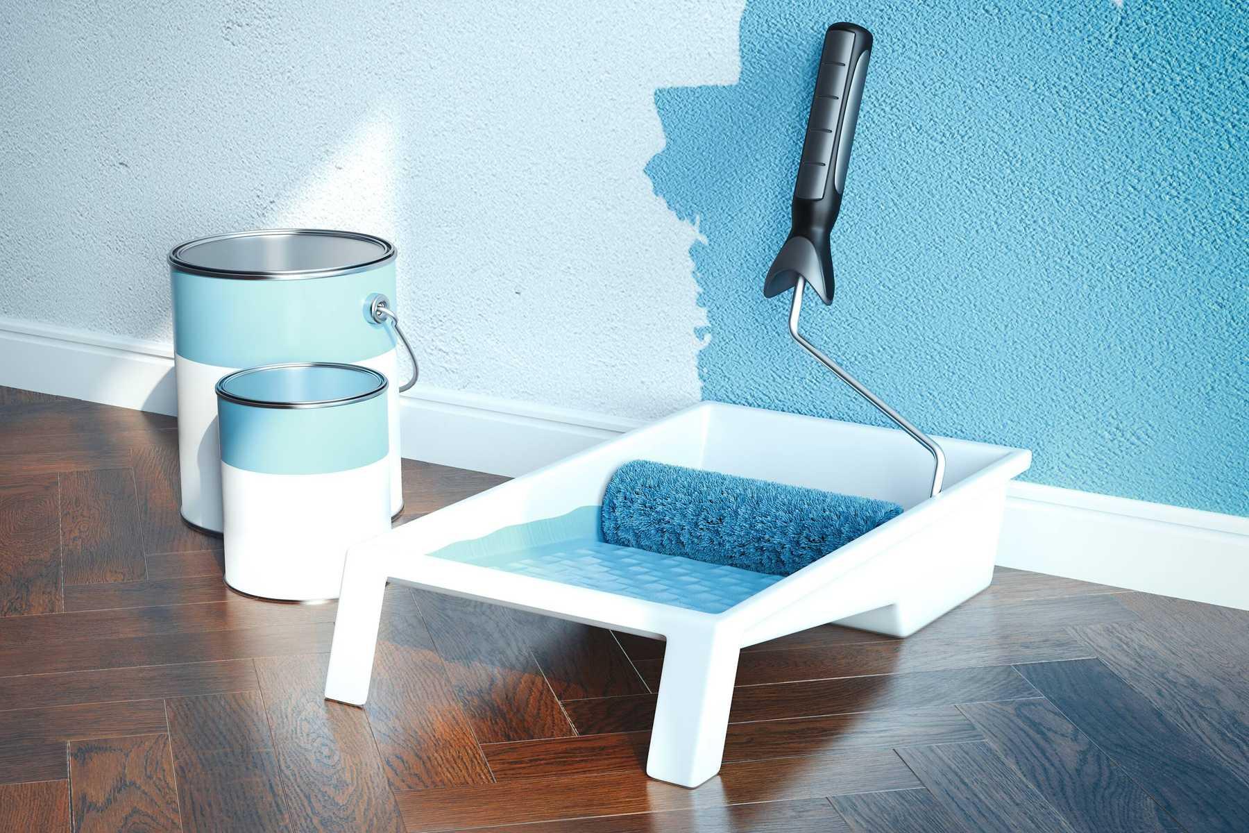 Dịch vụ sơn nhà sử dụng cách lăn sơn chuyên nghiệp