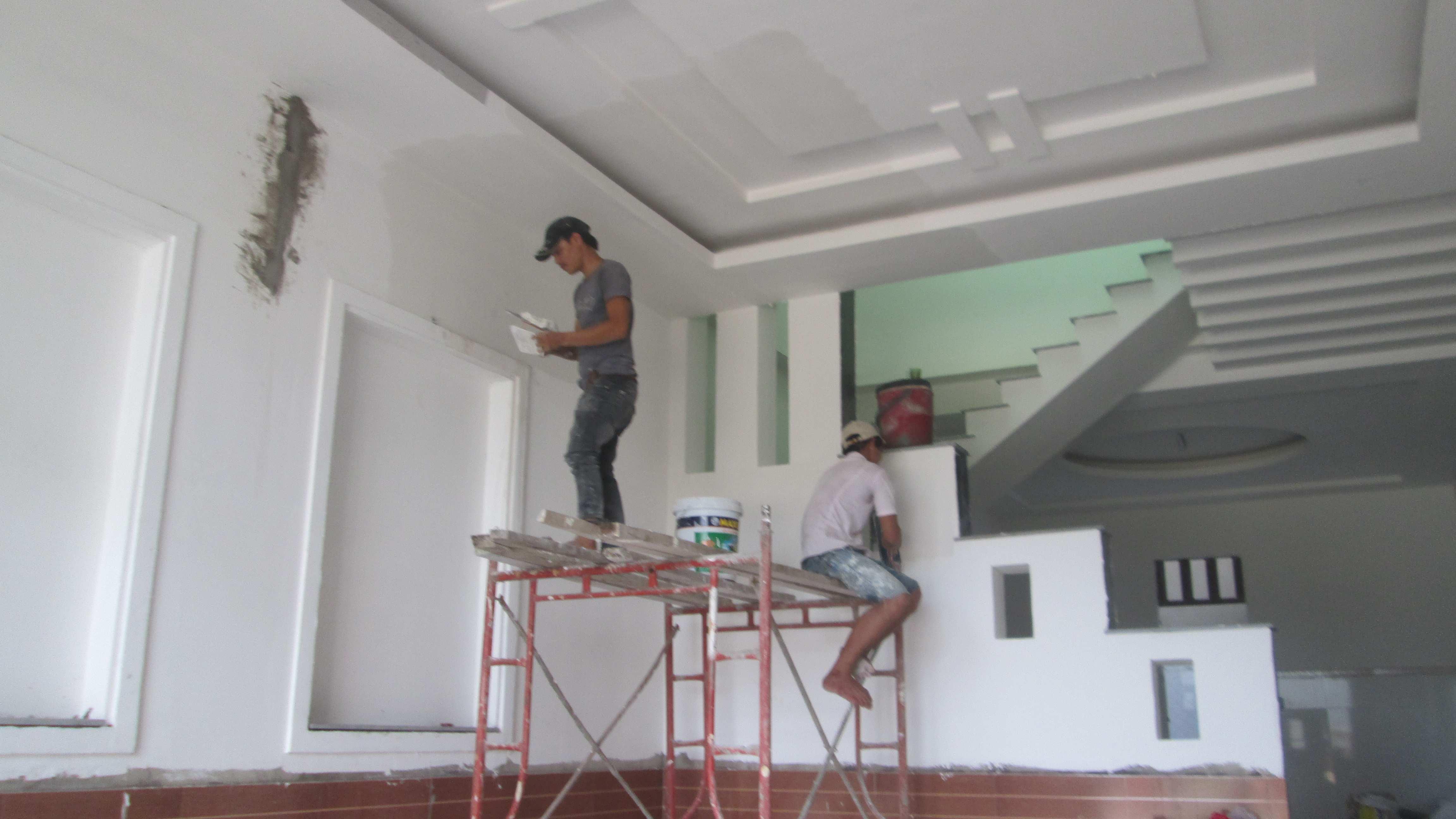 Tự sơn nhà mới, tự sơn lại nhà cũ