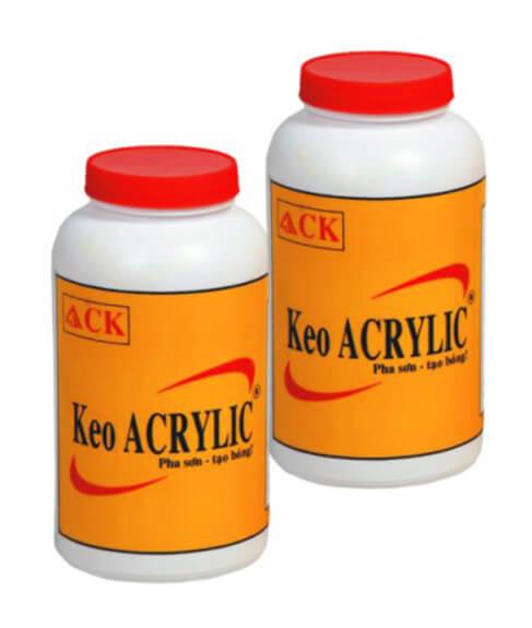 1 trong 6 loại keo chống dột mái nhà ở, keo acrylic
