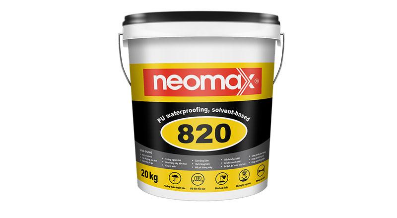 1 trong 6 loại keo chống dột mái nhà ở - keo neomax
