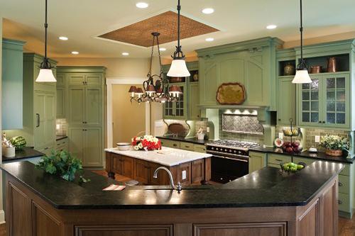 Mẫu trần thạch cao cho phòng bếp