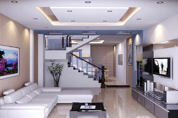 Mẫu trần thạch cao đẹp cho phòng khách