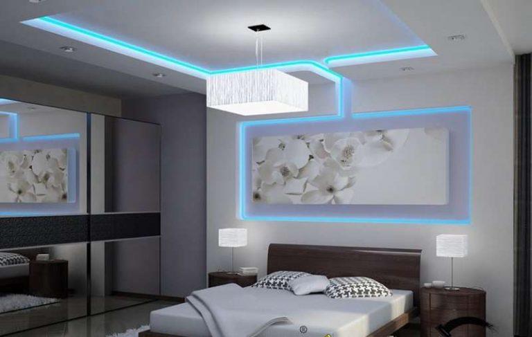 trần thạch cao đẹp cho phòng ngủ
