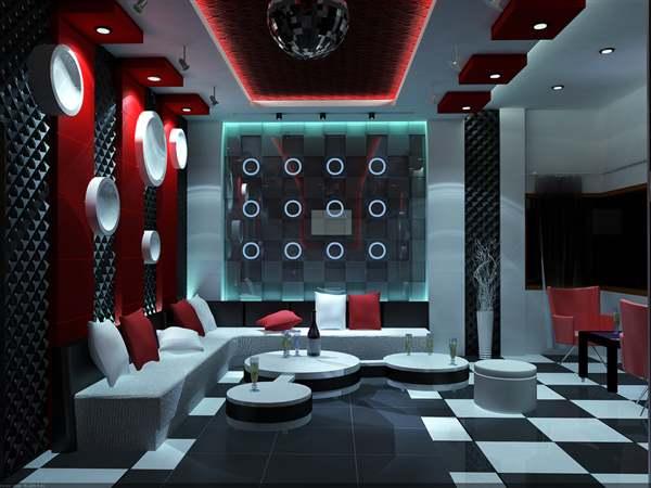 trần thạch cao đẹp karaoke
