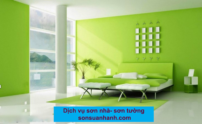 Dịch vụ sơn tường trọn gói tại TPHCM, Hà Nội
