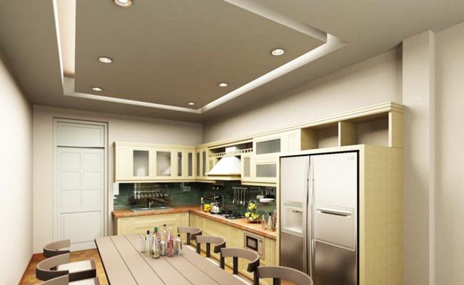 Làm trần thạch cao phòng bếp