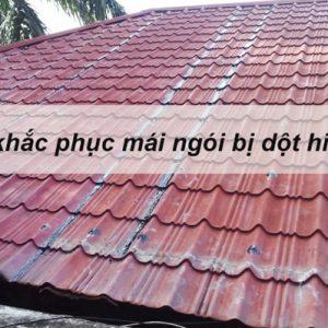 Cách khắc phục mái ngói bị dột