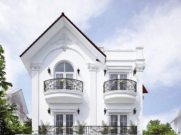 sơn nhà màu gì sang trọng