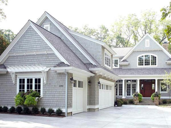 sơn nhà ngoài trời màu gì đẹp