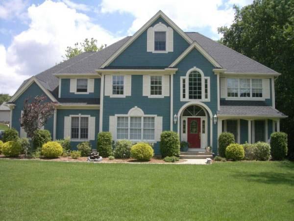 màu sơn ngoài nhà đẹp