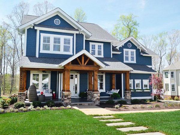 màu sơn nhà đẹp bên ngoài