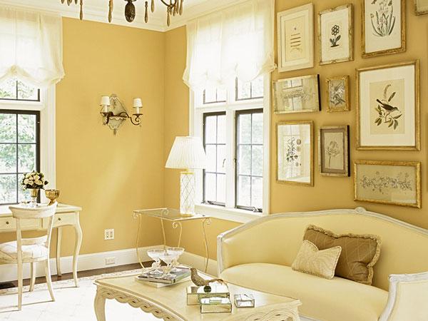 sơn nhà màu nào đẹp nhất