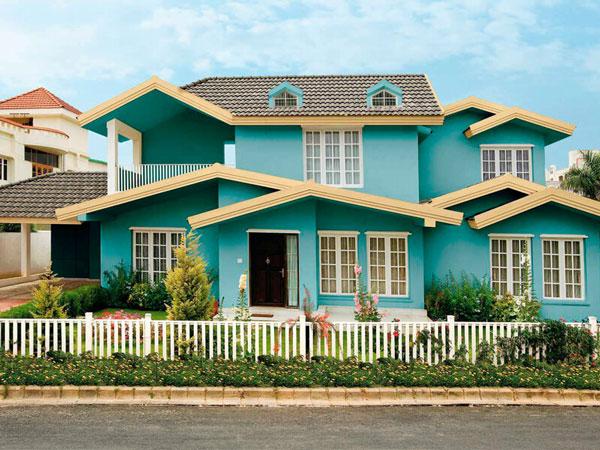 sơn nhà màu gì đẹp