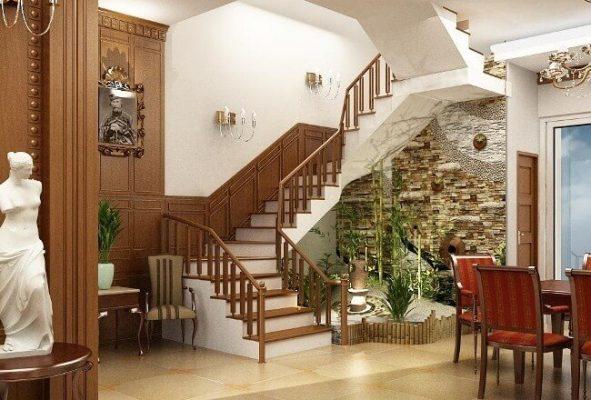 Số bậc cầu thang nhà ở