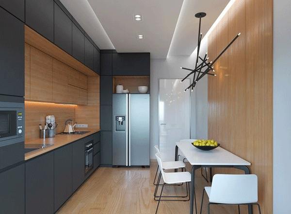 mẫu trần thạch cao cho phòng bếp nhỏ hẹp