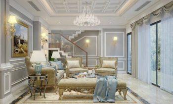 Trần thạch cao phòng khách đẹp